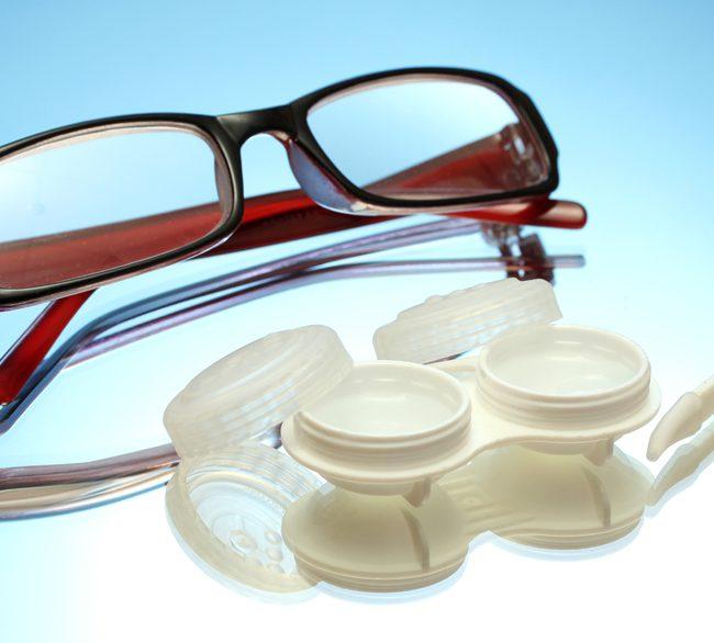 Die Kontaktlinse. Die perfekte Ergaenzung zu Ihrer Brille.