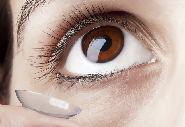 Kontaktlinsen vom Profi